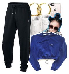 """""""ROB & Chyna"""" by trillest-kid ❤ liked on Polyvore featuring Casetify and NIKE"""