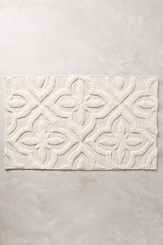 Shimmered Squares Bathmat #anthropologie