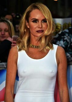 Amanda Holden's Topshop blouse is our