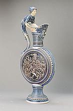 pilgrim bottle , german, around 1900