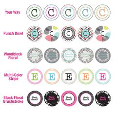 Featuring exclusive Thirty-One designs and coordinating perfectly with our other stationery options, these are the perfect way to seal every letter in style! Sheet of 30 seals. Large single initial OR 1 or 2 lines, 10 character limit each line.  www.mythirtyone.com/allisonmccarron