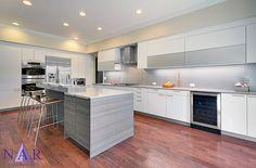 Grey Inspired Kitchen in Poggenpohl cabinetry. Lucy's Dream Kitchen. Nar Fine Carpentry. Sacramento. El Dorado Hills