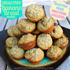 Guilt-free, gluten-free, protein-packed banana bread. Chia seeds and hemp protein powder make this treat extra healthy!