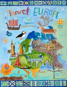 Travel Europe by Donna Ingemanson