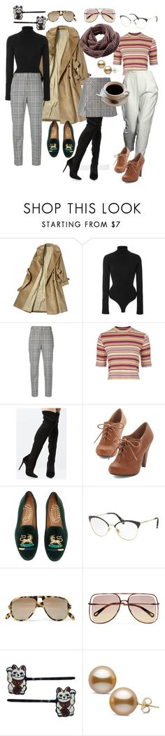 """business"" by twinklelittlebat ❤ liked on Polyvore featuring Khaite, Alexander Wang, Topshop, Doo.Ri, Shoe Republic LA, Viktor & Rolf, Stubbs & Wootton, Miu Miu, Acne Studios and Chloé"