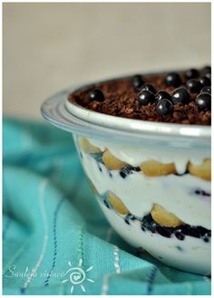 Blueberry Lemon Tiramisu