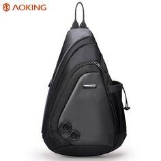 cedd11786f Aoking New Fashion Water Shape Chest Bag Large Capacity Men Sling bag  Waterproof Travel Daily Crossbody Bag Shoulder Bag