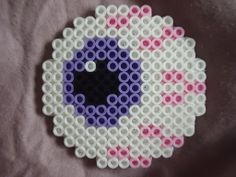 eyeball perler - eye perler - Eye C U by *TsukiHimeChii on deviantART