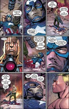 Steve Rogers people, trying to parent people and spouting life lessons mid battle. Cap, physically, you ain't that old, why must you call everyone son?