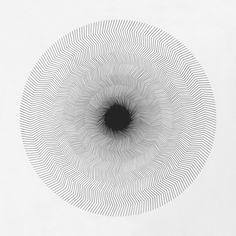 ●●●●●●●●●● ● Drawing by Cyril Galmiche #circle #line #drawing #circular #round #geometry #screenprinting #minimalism #worksonpaper #Handmade #Bw #Blackandwhite #circular