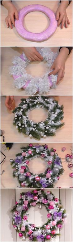 NEW YEAR Christmas wreath