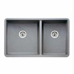 Blanco America Blancoprecis (Metallic Gray) 441130 :: Kitchen Sink from Home & Stone