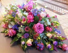 Casket Flowers, Grave Flowers, Cemetery Flowers, Funeral Flowers, Wedding Flowers, Arrangements Funéraires, Funeral Floral Arrangements, Easter Flower Arrangements, Unique Flowers