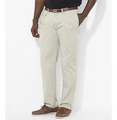 Polo Ralph Lauren® Men's Big & Tall Classic-Fit Pleated Chino Pant