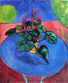 Cyclamen Pourpre, Matisse