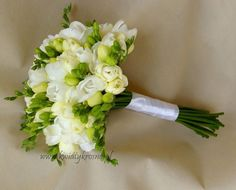 Perfect classic wedding bouquet