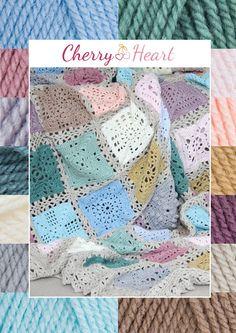 Stylecraft+Special+DK+Colour+Pack+for+Cherry+Heart+Sampler+Blanket