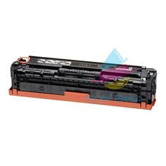 Remanufactured 125A (CB540A) Black Laser Toner Cartridge for HP (2,200 Page Yield)