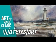 How to paint mist and fog in watercolour by Paul Clark - YouTube