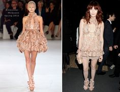 Florence Welch In Alexander McQueen – The Universal Brit Awards After Party