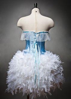 really elaborate Alice in Wonderland costume...