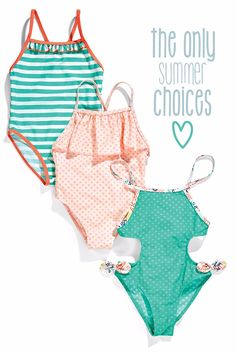 ZIPPY Girl Bathing Suit #5658236 #5658215 #5658258 #zysummer16 Find it here!