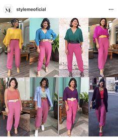 Fashion Beauty, Girl Fashion, Looks Pinterest, Pink Pants, Fashion Gallery, Personal Stylist, Urban Fashion, Fashion Pants, Get Dressed