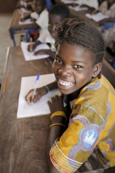 What could be a greater gift than sending a girl to school?Educating girls is considered the key to breaking the cycle of poverty for millions of families around the world. But studies show that girls make up 70 per cent of children not enrolled in school globally.