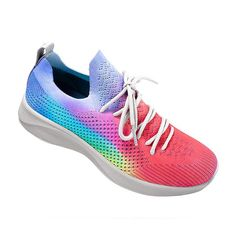 VEGAN RAINBOW SNEAKERS by @nativeshoes ! | avesu VEGAN SHOES Fully vegan practically weightless and super comfy thanks to a cushioned sole.   Check out in our online store www.avesu.eu  #pride #veganshoes   #vegansneakers  #veganfashion Vegan Sneakers, Vegan Shoes, Sneakers Nike, Rainbow Sneakers, Vegan Fashion, Nike Free, Pride, Comfy, Amazing