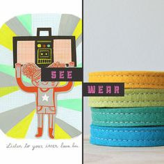 See / Wear featuring Loft Full of Goodies & Domestica Print #art #print #handmade