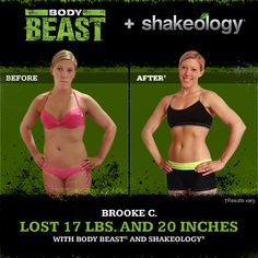 Body Beast and Shakeology: Muscles, Nutrition, Confidence - Shakeology...... beachbodycoach.com/zbchristy501