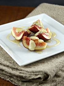 Authentic Suburban Gourmet: Warm Figs with Gorgonzola and Honey