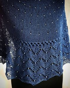 Ravelry: studena's Kindness Shawl - See Pic Shawl Patterns, Sweater Knitting Patterns, Loom Knitting, Knitting Designs, Free Knitting, Knitted Shawls, Crochet Shawl, Knit Crochet, Ravelry