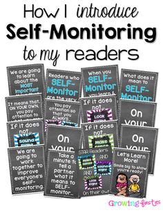 How I Work With Students to Self-Monitor While Reading - Look Right Sound Right Make Sense