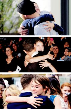 Theo James, Shailene Woodley, Theoshai, Divergent