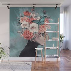 Buy blooming 3 Wall Mural by dada22. Worldwide shipping available at Society6.com. Just one of millions of high quality products available.