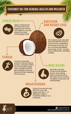 Coconut Oil for General Health and Wellness | Stay at Home Mum