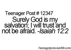 Teenager Posts | God Bless