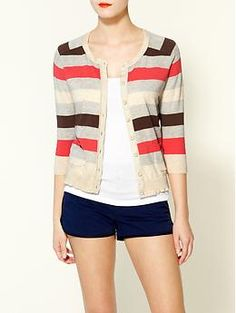 Tinley Road Stripe Cardigan | Piperlime