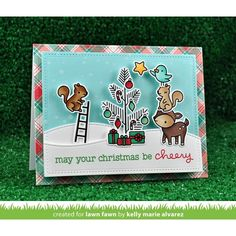RESERVE Lawn Fawn SET SULF16SETCC CHEERY CHRISTMAS Clear Stamps and Dies Preview…
