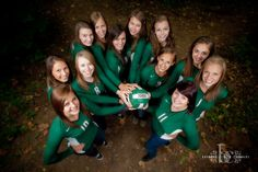 volleyball portrait....great for cheer too