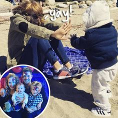 Michael Bublé's Wife Luisana Lopilato Shares A Sweet Beach Snap As The Family Reemerges After Son's Cancer Diagnosis