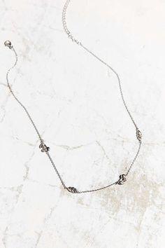Slide View: 2: Lennon Charm Necklace