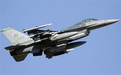 F16 Involved in Midair Collision Over Charleston
