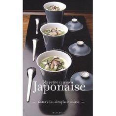 livre de cuisine japonaise de Céline