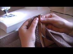 comment coudre un coussin avec une fermeture cachée / hidden zipper pillow tutoriel - YouTube                                                                                                                                                                                 Plus
