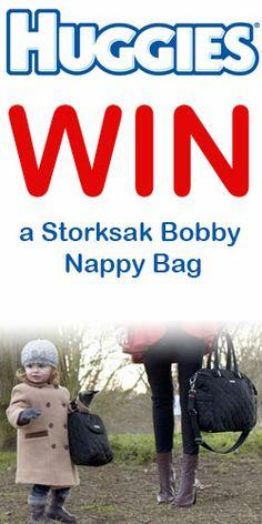Win a Storksak Bobby Nappy Bag #diaperbag #contest