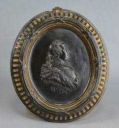 Wedgwood and Bentley Black Basalt Plaque. With a Profile of William Duke of Cumberland the Butcher of the Scots, Circa 1765. Courtesy of Martyn Edgell Antiques Ltd.