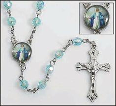 Teal Aqua Our Lady of Grace Rosary Beads GF001,http://www.amazon.com/dp/B005GLD7KI/ref=cm_sw_r_pi_dp_WZwWsb1YD9C7WYB1