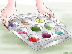 Comment peindre un tableau avec de la peinture acrylique Step By Step Painting, Canvas, Diy, Studio, Simple Canvas Paintings, Canvas Art, Painting Tricks, Pen And Wash, Palette